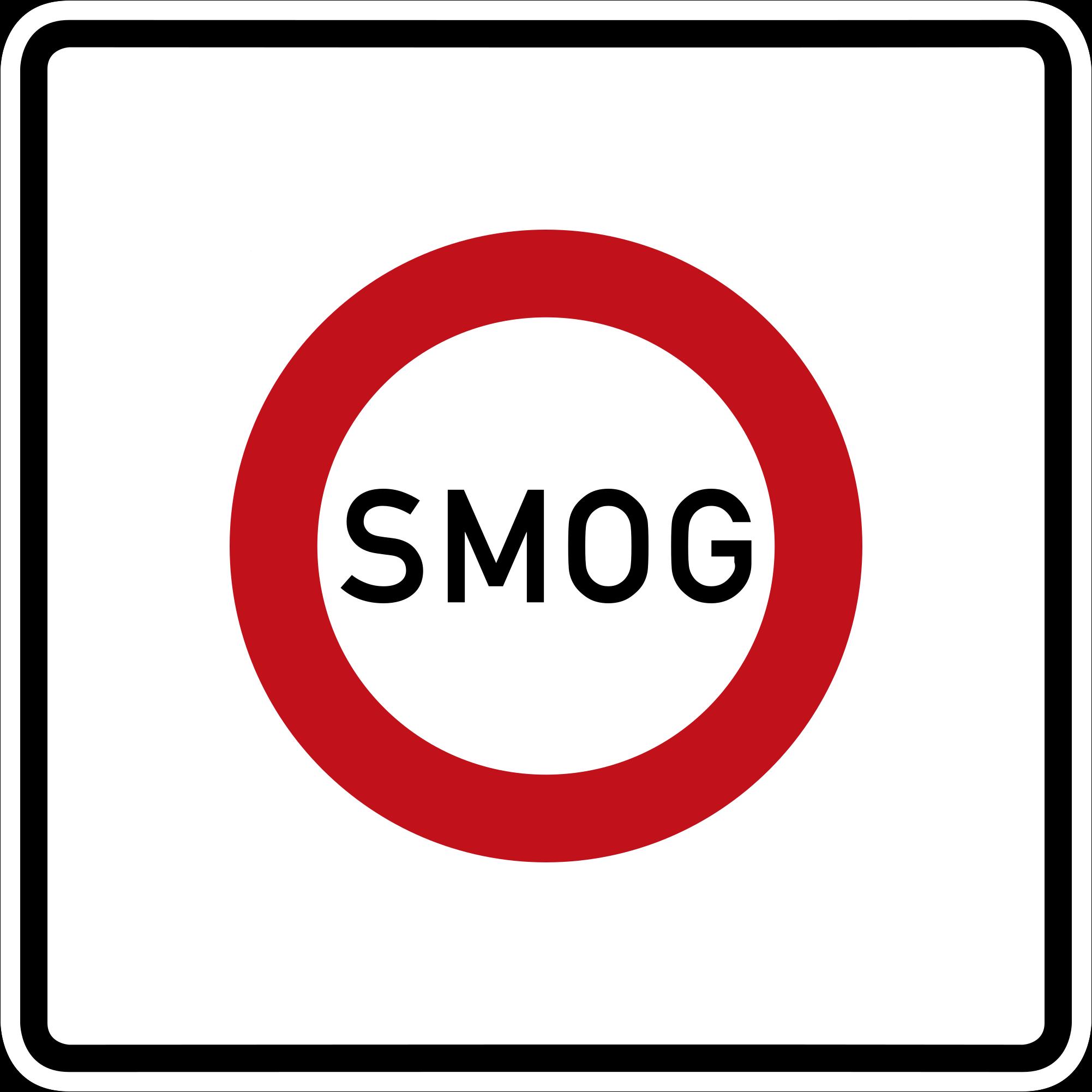 SMOG-Schild