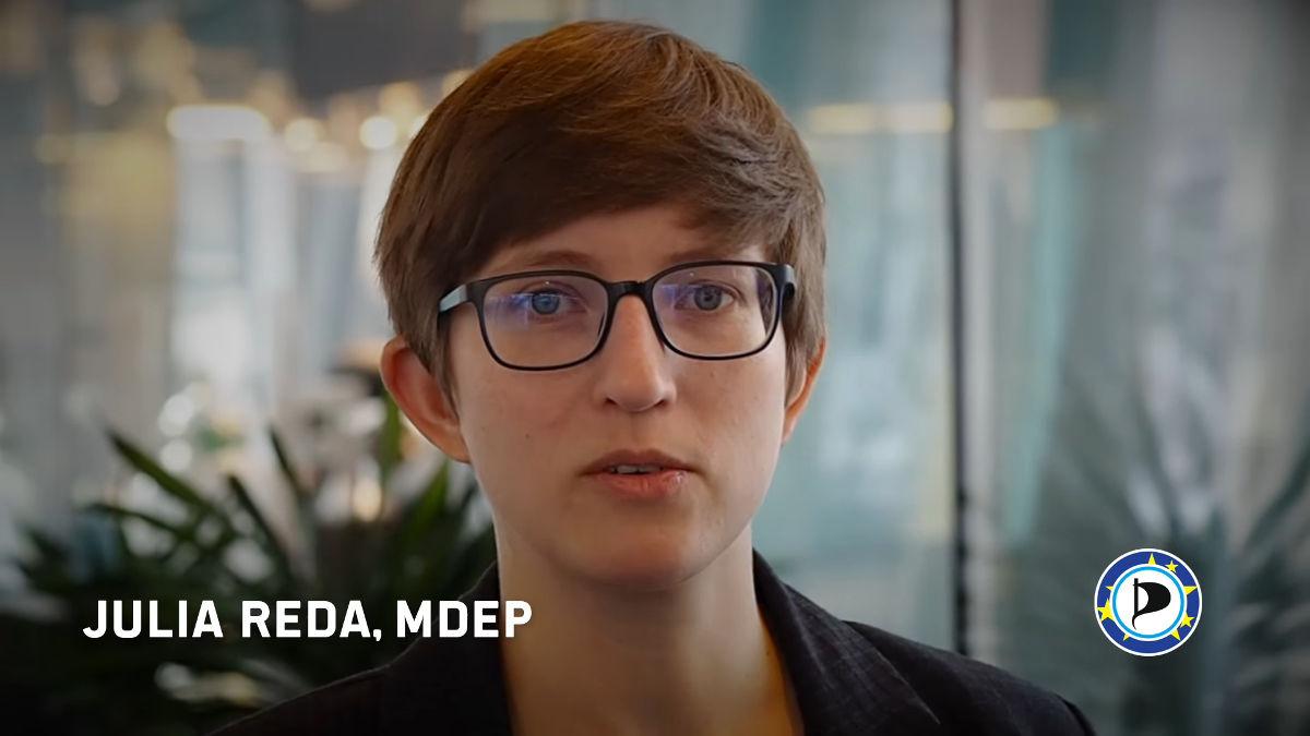 Julia Reda, Europa-Abgeordnete der Piraten